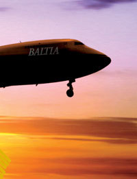 Plane of Baltia Air Lines